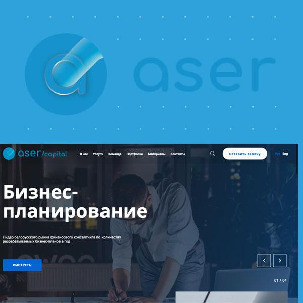 ASER / Capital - разработка сайта DoCode DEV