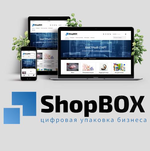 DoCode DEV - разработка визитки для IT-продукта ShopBOX